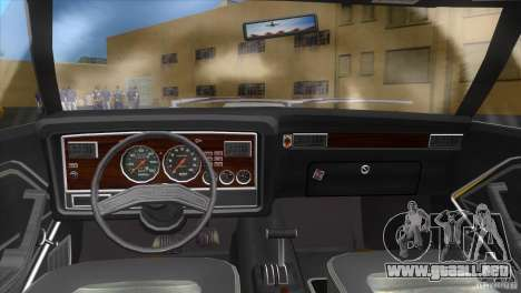 Ford Mustang Cobra 1976 para GTA Vice City vista lateral izquierdo