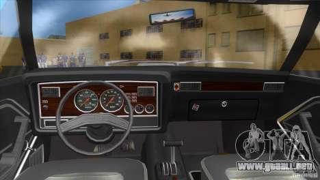 Ford Mustang Cobra 1976 para GTA Vice City vista lateral izquierdo