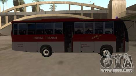 Rural Transit 10206 para GTA San Andreas vista posterior izquierda