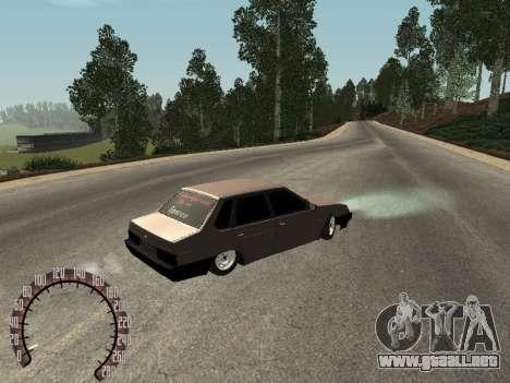 VAZ 21099 para la visión correcta GTA San Andreas