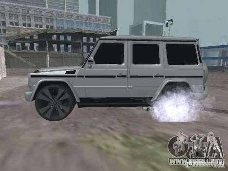 Mercedes-Benz G500 Kromma 1480 para GTA San Andreas left