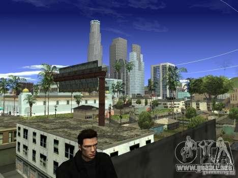 Claude HD Remake (Beta) para GTA San Andreas sucesivamente de pantalla