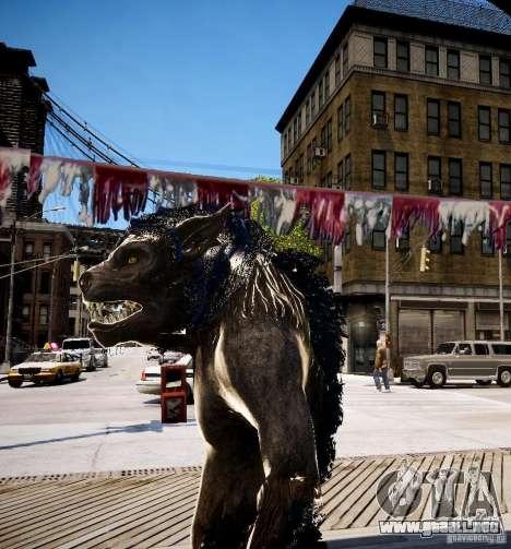 Werewolf from Skyrim para GTA 4 tercera pantalla