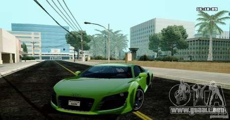Audi R8 Light Tuned Version para GTA San Andreas
