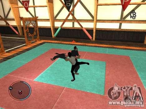 Bruce Lee piel para GTA San Andreas quinta pantalla