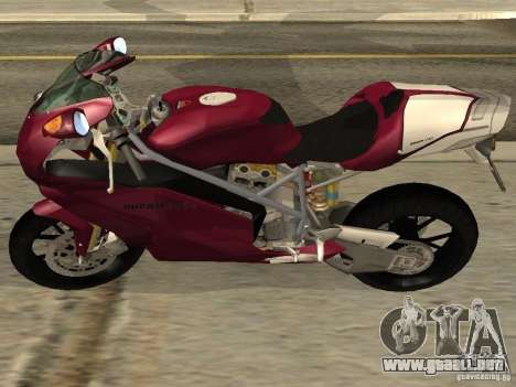 Ducati 999R para GTA San Andreas left