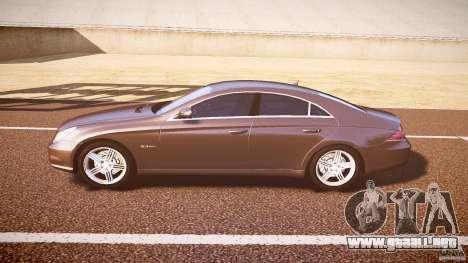 Mercedes-Benz CLS 63 para GTA 4 Vista posterior izquierda