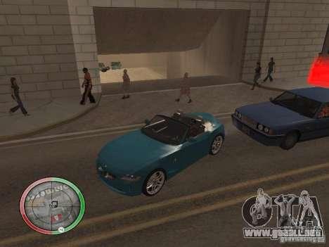 Car shop para GTA San Andreas sexta pantalla