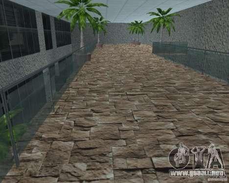 Salón del automóvil de SF para GTA San Andreas sucesivamente de pantalla