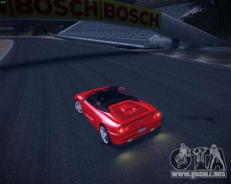 Ferrari F355 Spyder para visión interna GTA San Andreas