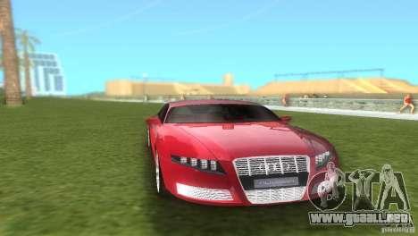 Audi Nuvolari Quattro para GTA Vice City vista posterior