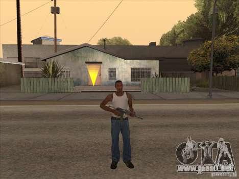 Nuevo Pack de armas nacionales para GTA San Andreas sexta pantalla