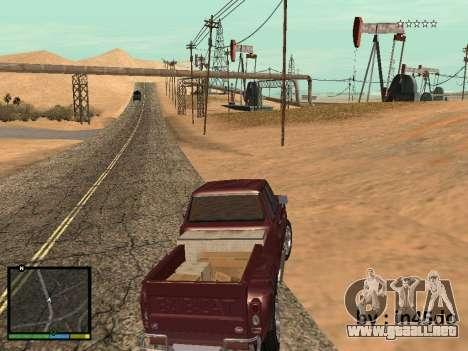 GTA V Interface for Samp para GTA San Andreas