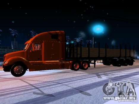 Freightliner Columbia para GTA San Andreas left