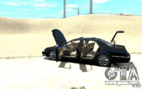 Cadillac DTS v 2.0 para GTA 4 visión correcta