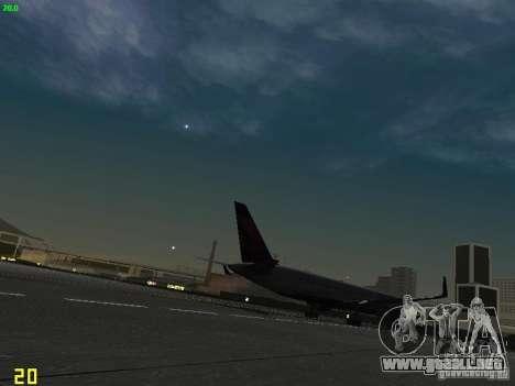 Boeing 767-400ER Delta Airlines para la visión correcta GTA San Andreas