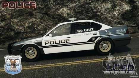 LCPD K9 Unit para GTA 4 left