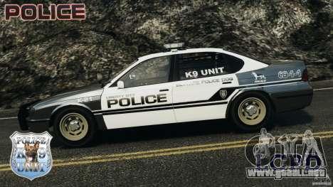 LCPD K9 Unit para GTA 4 left
