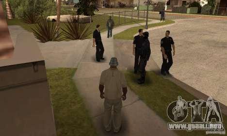 Cop Homies para GTA San Andreas segunda pantalla