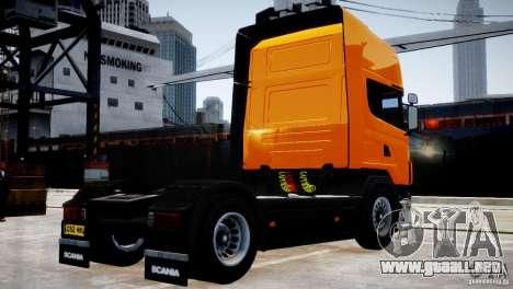 Scania R500 para GTA 4 visión correcta