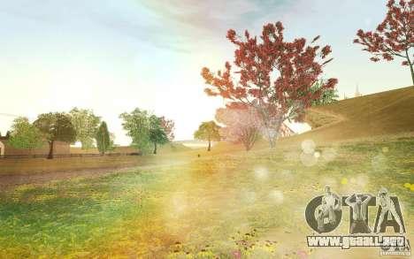 Project Oblivion 2010 Sunny Summer para GTA San Andreas octavo de pantalla