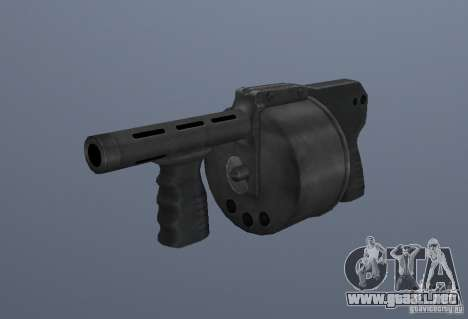 Grims weapon pack3 para GTA San Andreas twelth pantalla