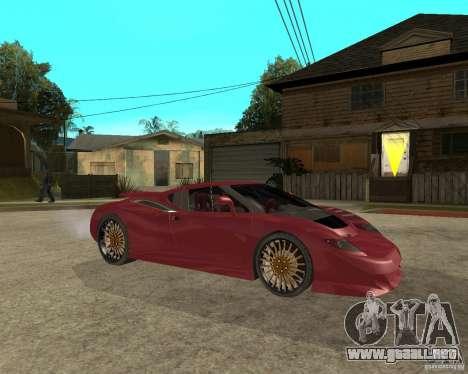 B-Engineering Edonis para la visión correcta GTA San Andreas