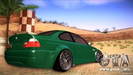 BMW E46 Drift II para GTA San Andreas left