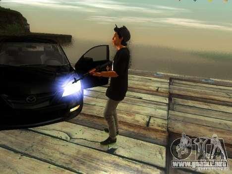Chico en el FBI para GTA San Andreas tercera pantalla