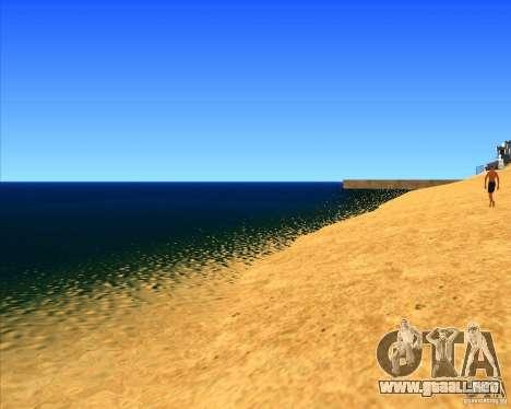 Hermoso entorno ENBSeries para GTA San Andreas segunda pantalla