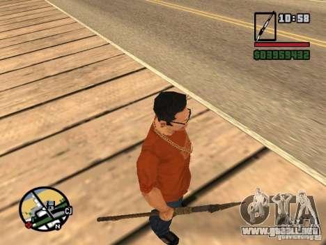 Lanza para GTA San Andreas sucesivamente de pantalla