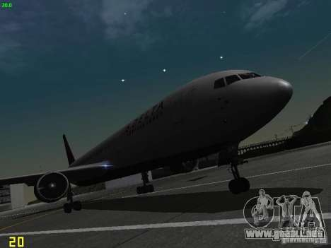 Boeing 767-400ER Delta Airlines para GTA San Andreas