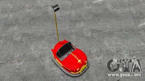 Coche de parachoques para GTA 4 visión correcta