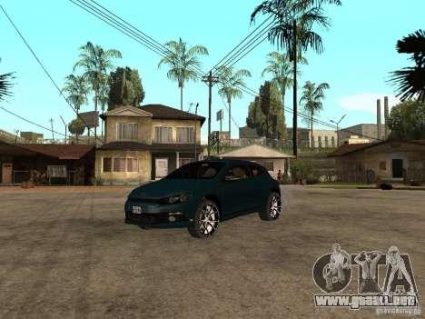 Volkswagen Scirocco 2010 para GTA San Andreas
