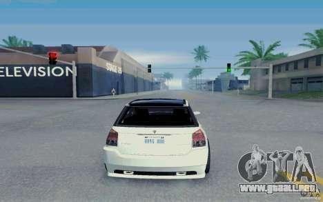 Benefactor Serrano Modder para la visión correcta GTA San Andreas