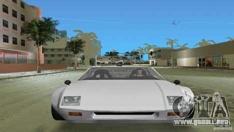 De Tomaso Pantera para GTA Vice City vista lateral izquierdo