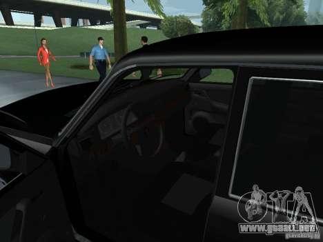 Volga GAZ 31105 para GTA San Andreas vista hacia atrás