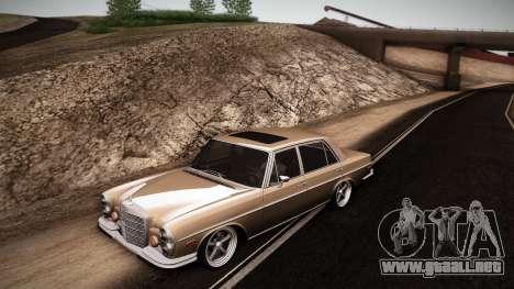 Mercedes Benz 300 SEL - Custom RC3D Edit para GTA San Andreas left