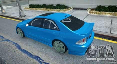 Toyota Altezza para GTA 4 visión correcta