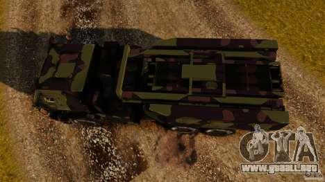 M142 HIMARS para GTA 4 visión correcta