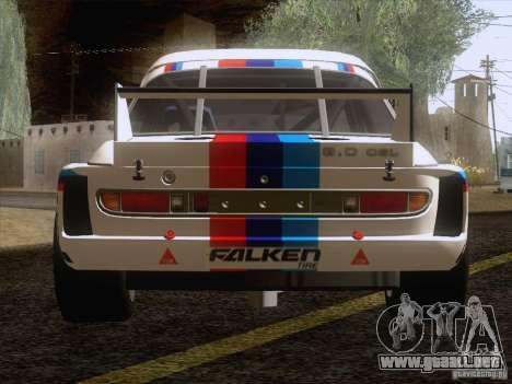 BMW CSL GR4 para GTA San Andreas vista hacia atrás