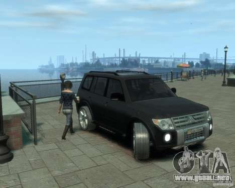 Mitsubishi Pajero para GTA 4 left
