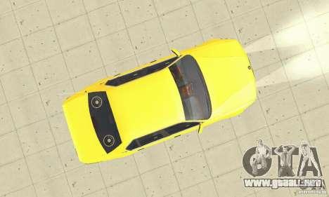 BMW 750I E32 para la visión correcta GTA San Andreas