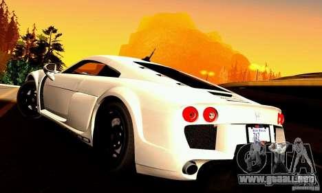 Noble M600 para la vista superior GTA San Andreas