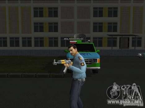 Pieles de milicia para GTA San Andreas segunda pantalla