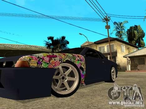Elegy JDM para GTA San Andreas vista posterior izquierda