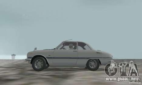 Isuzu Bellett GT-R para la visión correcta GTA San Andreas