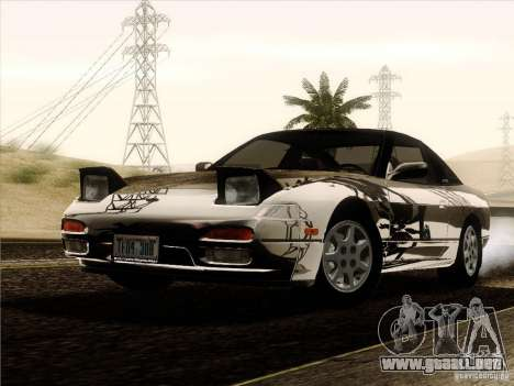 Nissan 240SX S13 - Stock para vista inferior GTA San Andreas