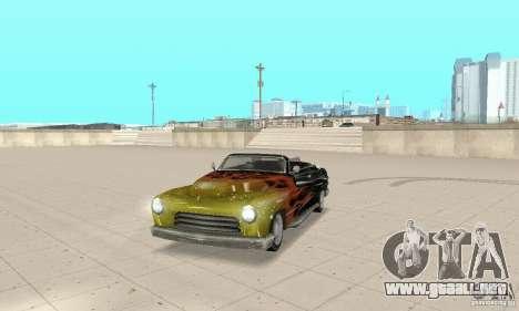 Flat Out Style para GTA San Andreas