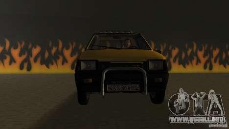 SeAZ Pickup para GTA Vice City vista posterior